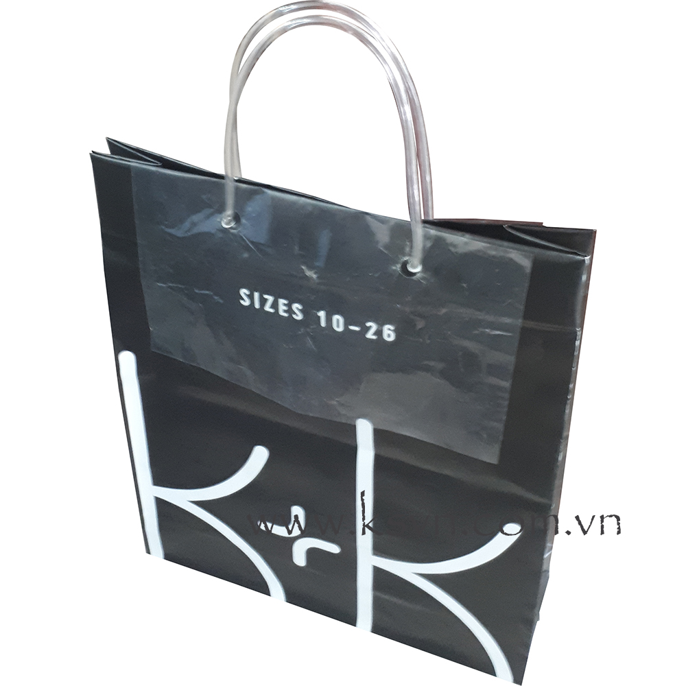 Drawstring bag high quality with rope PVC