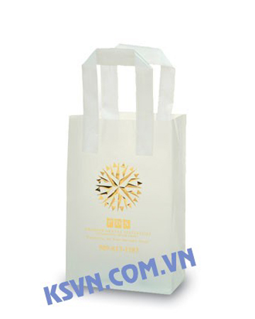 Cheap soft loop handle plastic shopping bags from Viet Nam