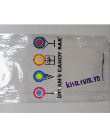 Flat bag PP food plastic bags