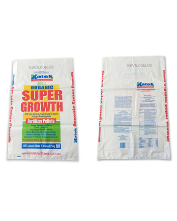 HDPE printing flat plastic bags for agriculture