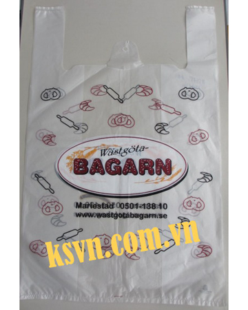 High quality and cheap price t-shirt plastic bag