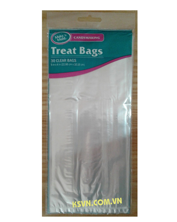 High quality best sell custom printed plastic treat bags