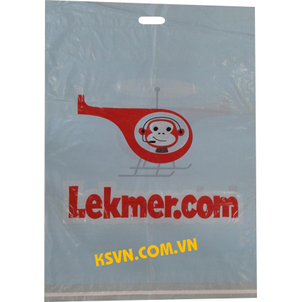 High quality mailling with die cut handle plastic bag