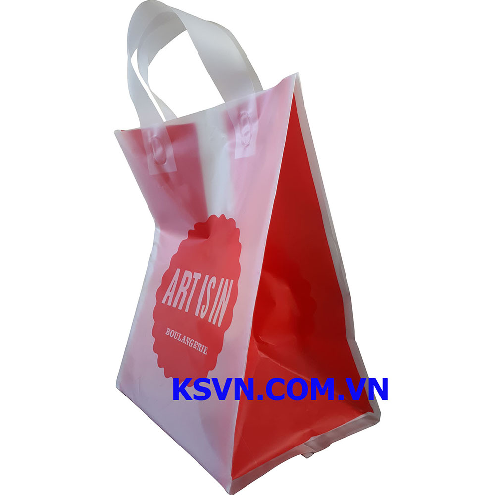 High Quality Soft Loop Handle Plastic Bag