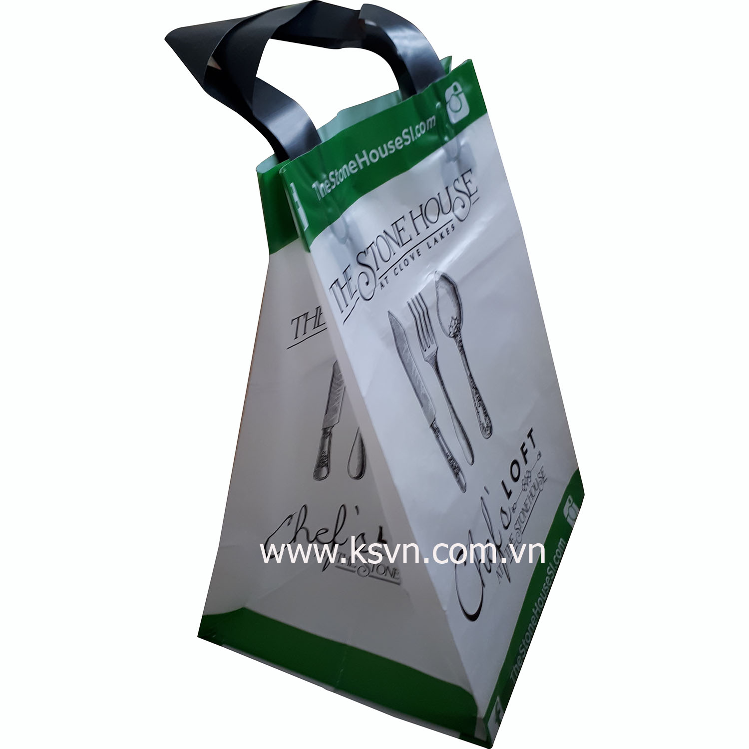 Flexi Loop Handle Bag High Quality Printing