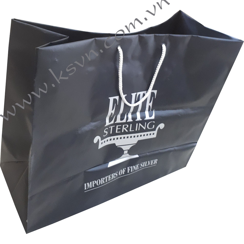 Rope Handle Plastic Bag